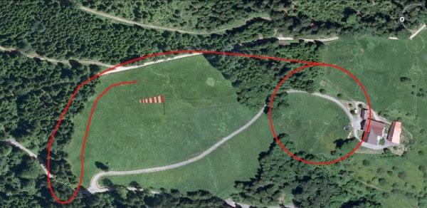 Bild 6 Landeplatz West suedwind