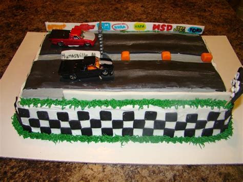 drag racing wedding cake   Pin Drag Race Cake By