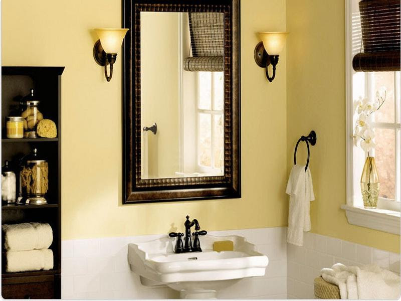 Bathroom colors for small bathrooms large and beautiful photos. Photo to select Bathroom