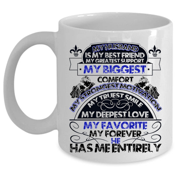 My Deepest Love My Favorite Coffee Mug My Husband Is My Best Friend