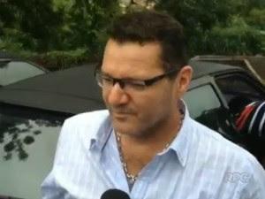 Marcelo Caramori foi preso suspeito de favorecimento e exploração sexual de menores em Londrina (Foto: Reprodução/RPC)