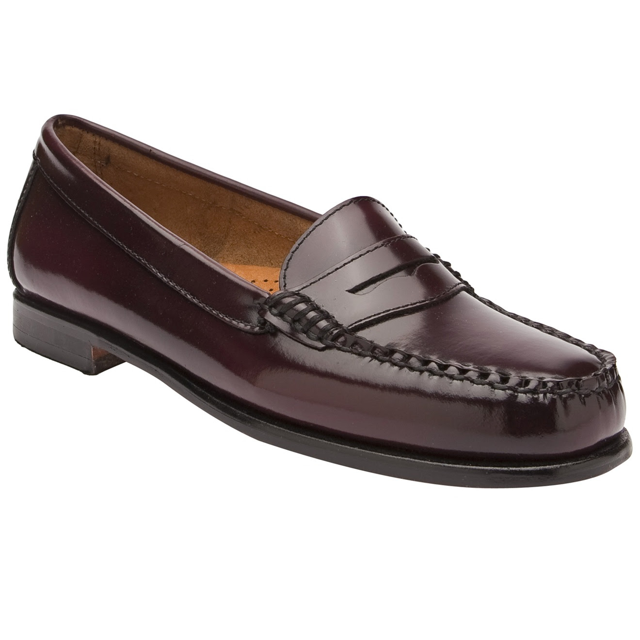 G.h. Bass & Co. Classic Penny Loafer in Purple (burgundy ...