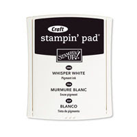 White Craft Stampin' Pad