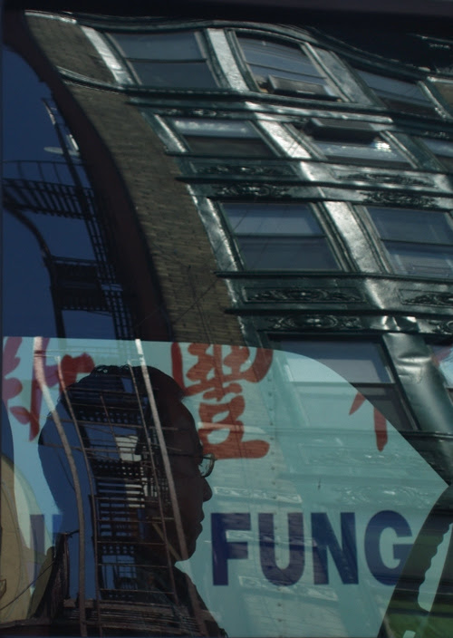 reflection in Chinatown, NYC