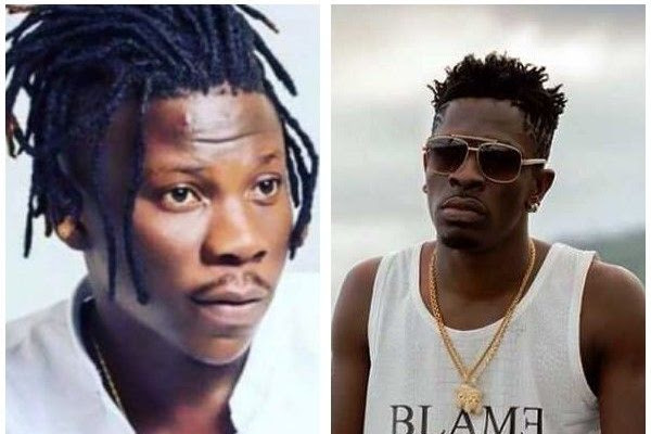 Image result for images of Ghana music awards ends in chaos as Shatta Wale storms stage after Stonebwoy was declared Reggae/Dancehall Artiste of the Year