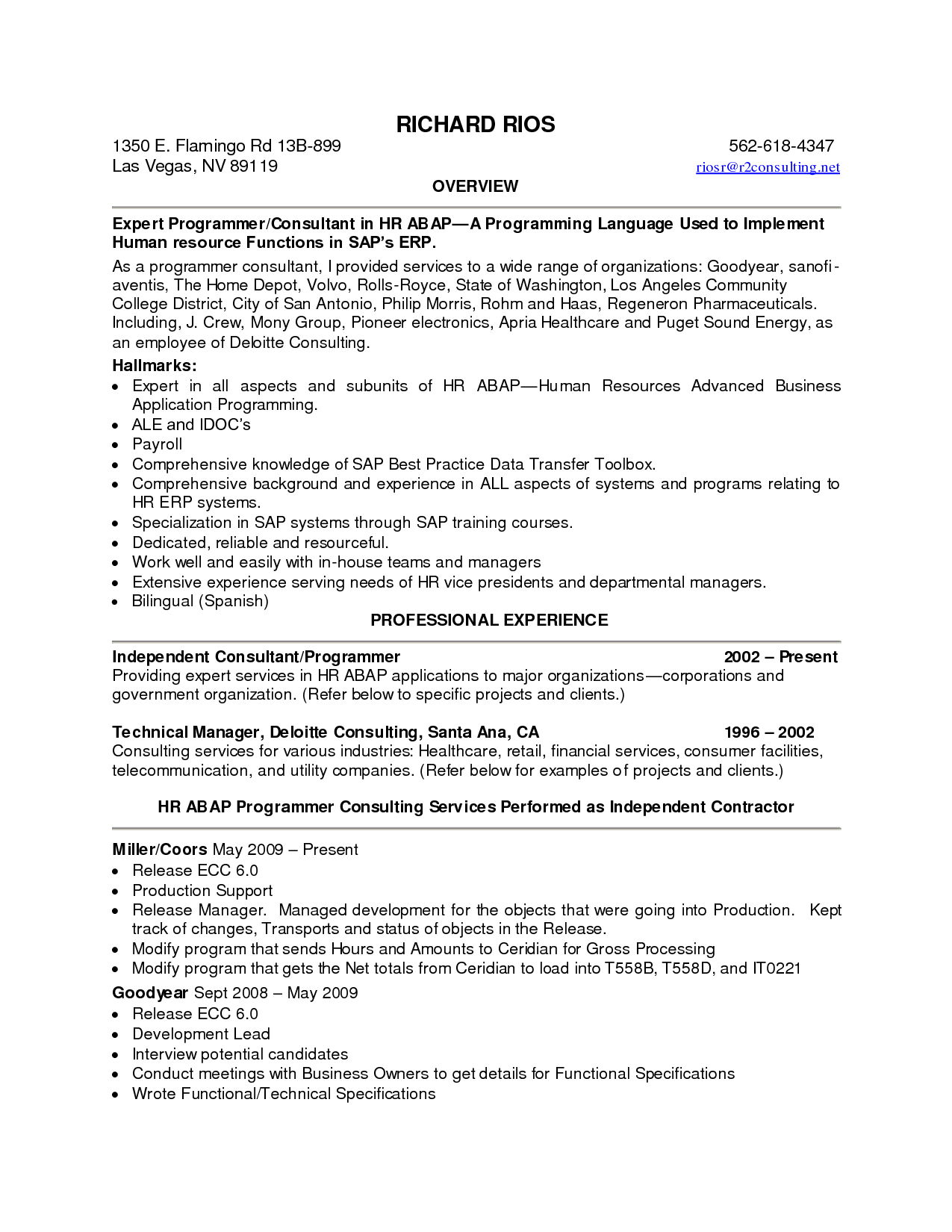 Best Summary of Qualifications Resume for 2016  SampleBusinessResume.com : SampleBusinessResume.com