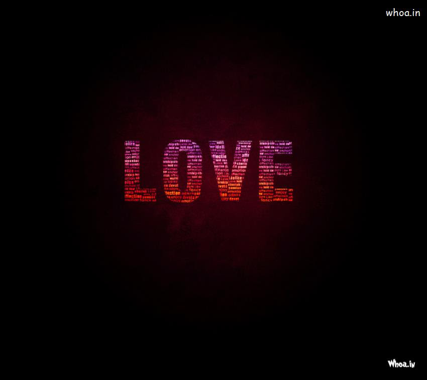 Love With Love Quotes Hd Wallpaper