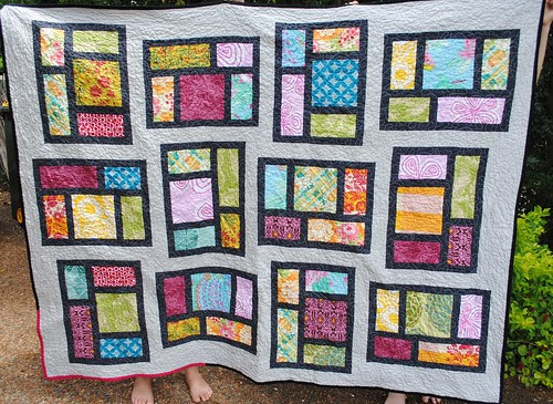 Kitchen Windows quilt #1