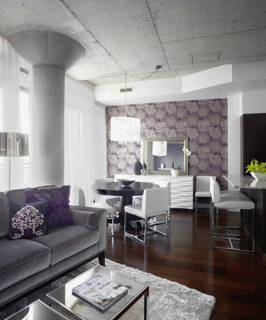 Morrison living room/dining room, Interior Design Toronto
