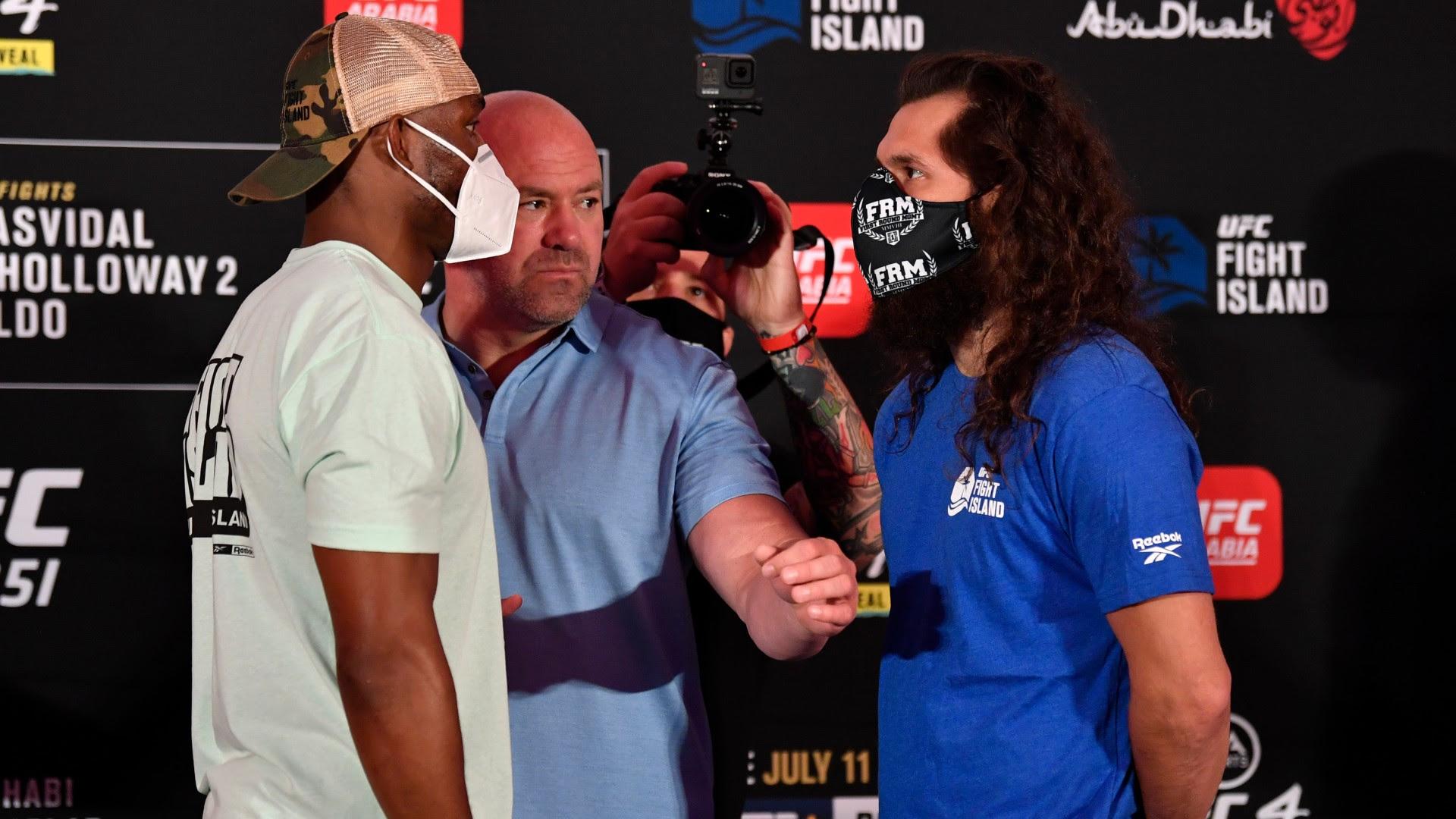 UFC 261 results: Kamaru Usman retains welterweight title with 2nd-round KO of Jorge Masvidal