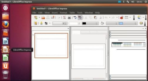 Ubuntu comes with a variety of software packages, including Firefox, Thunderbird, and the full-featured productivity suite LibreOffice.