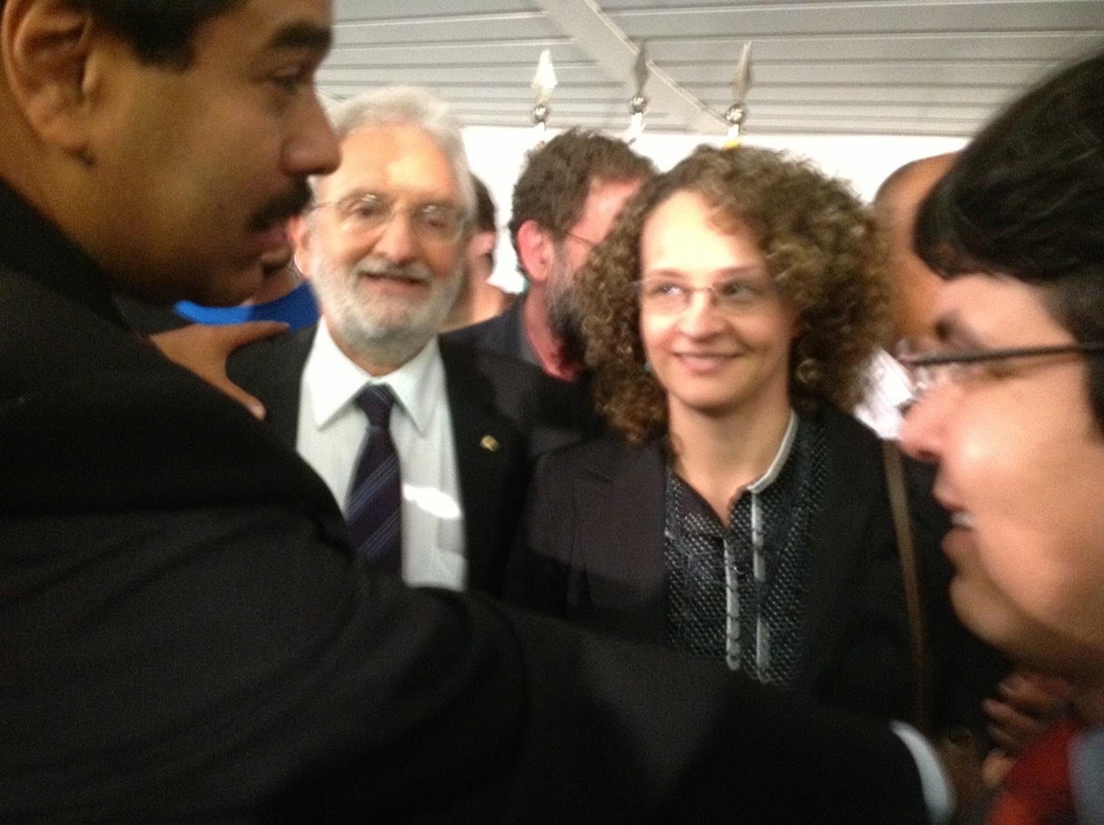 Nicolás Maduro com Luciana Genro, Ivan Valente e Randolfe Rodrigues, do PSOL