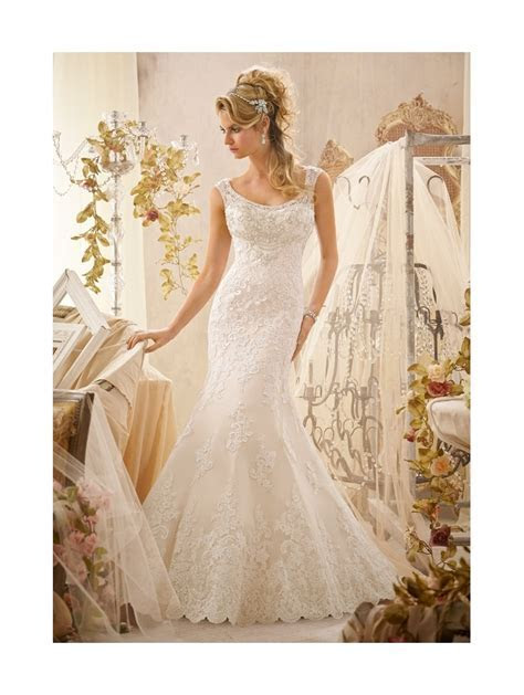 Mori Lee 2601 Beaded Bridal Gown Ivory/silver
