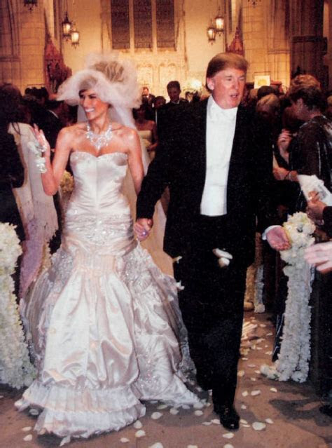 Melania Trump Wedding Dress