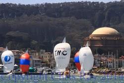 J/24s sailing San Francisco