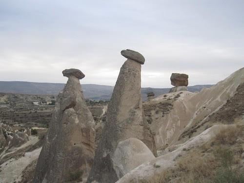 Mushroom Cap Rocks, Urgup