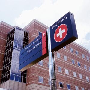 Ben Taub General Hospital in Houston sees 100,000 emergency patients a year, 5,000 of whom need psychiatric evaluation.