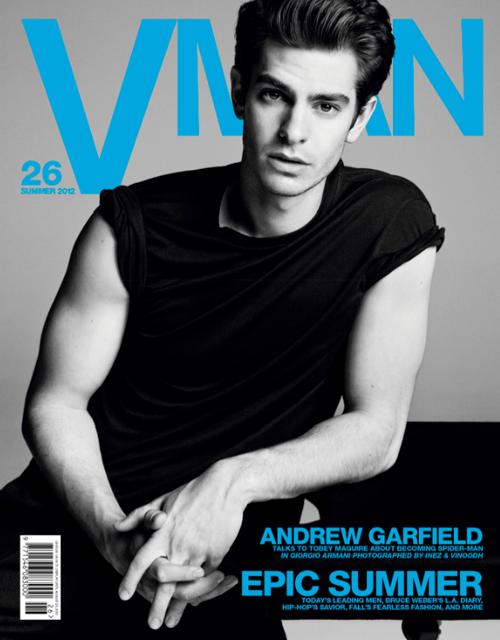 V Man magazine - June 2012, Andrew Garfield