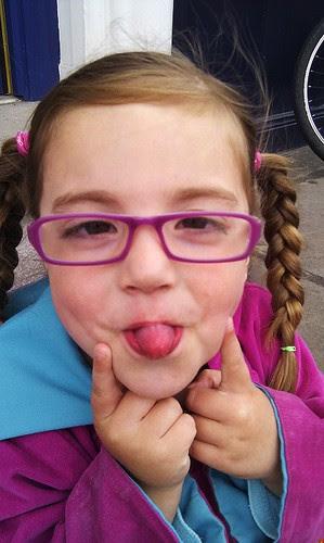 New specs cheeky