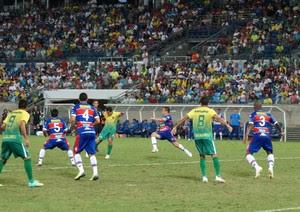 Cuiabá e Fortaleza na Arena Pantanal (Foto: Assessoria/Cuiabá Esporte Clube)