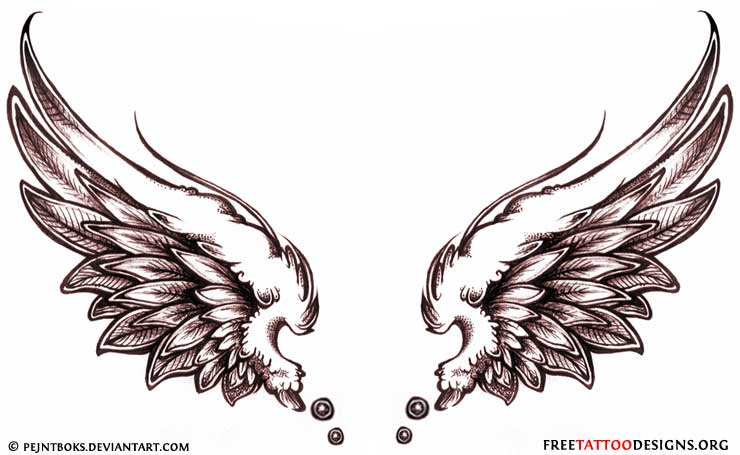 Angel Wing Tattoos Tattoo Designs Angel Wing Tattoo Design