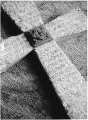 The Lord's Prayer (black & white)