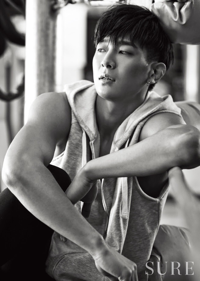 MADTOWN's Jota for Sure Korea February 2016. Photographed by Choi Sung Hyun