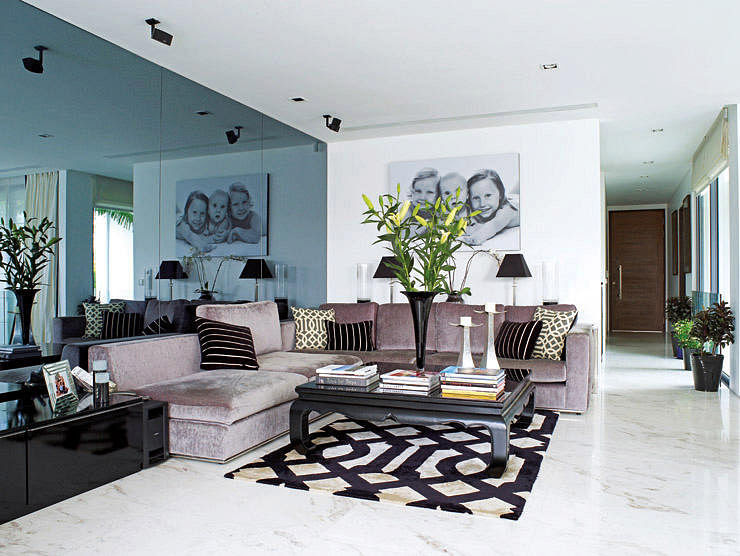 Living room design ideas: 3 ways to place an L-shaped ...
