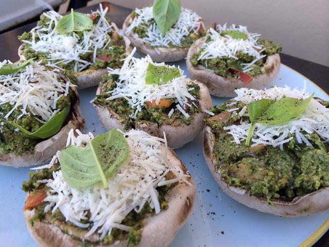 Stuffed-mushroom-spinach