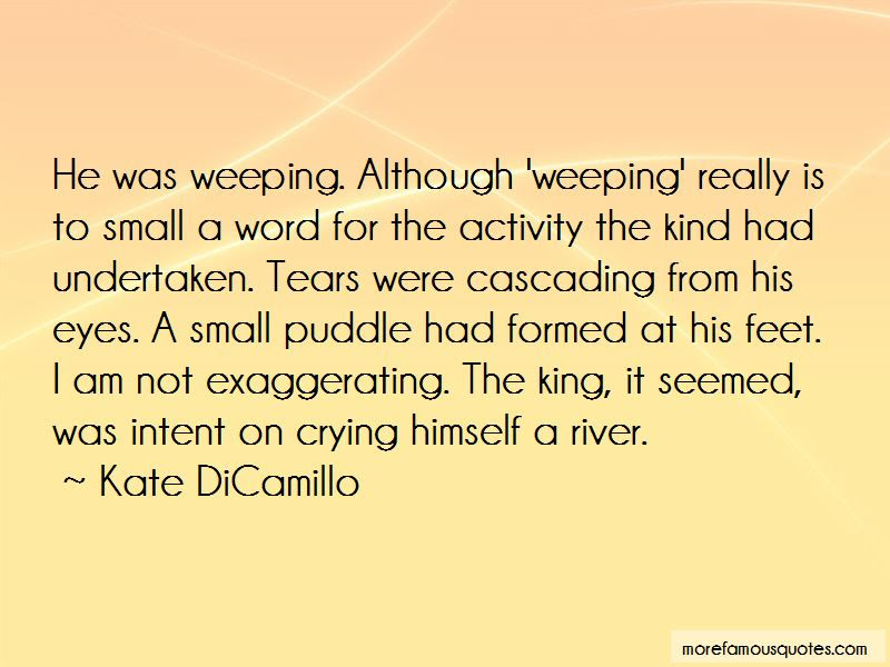 The River King Quotes Top 18 Quotes About The River King From