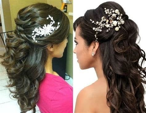 Tutorial: Half up Half down Party Hairstyle   Indian