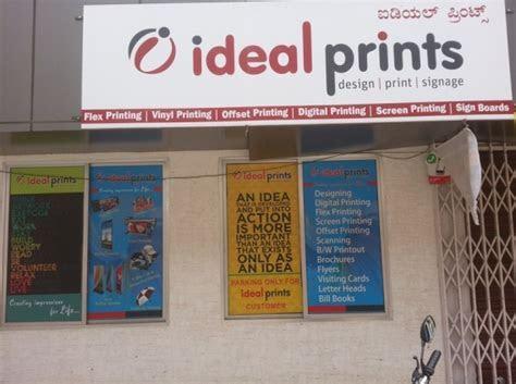IDEAL PRINTS (Design, Print, Signage)   Top In Bangalore