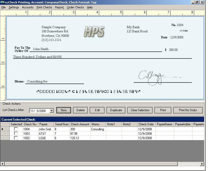 EzCheckPrinting Check Software Can Now Print QuickBooks Payroll Checks On Blank Stock