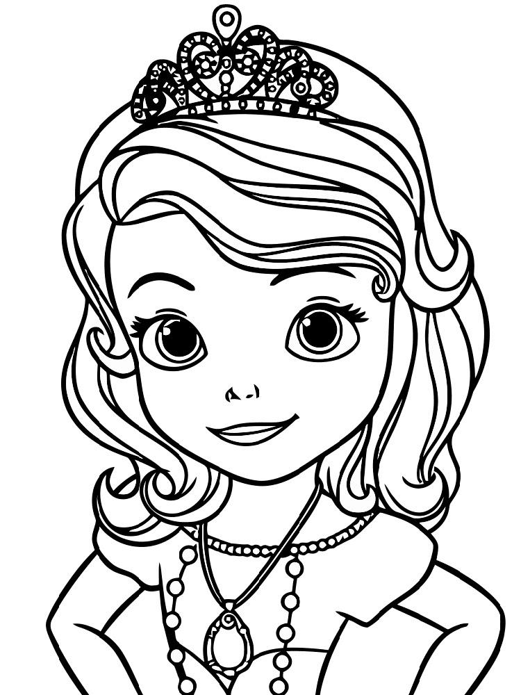 Prenses Sofia 2 ücretsiz Boyama Resimleri