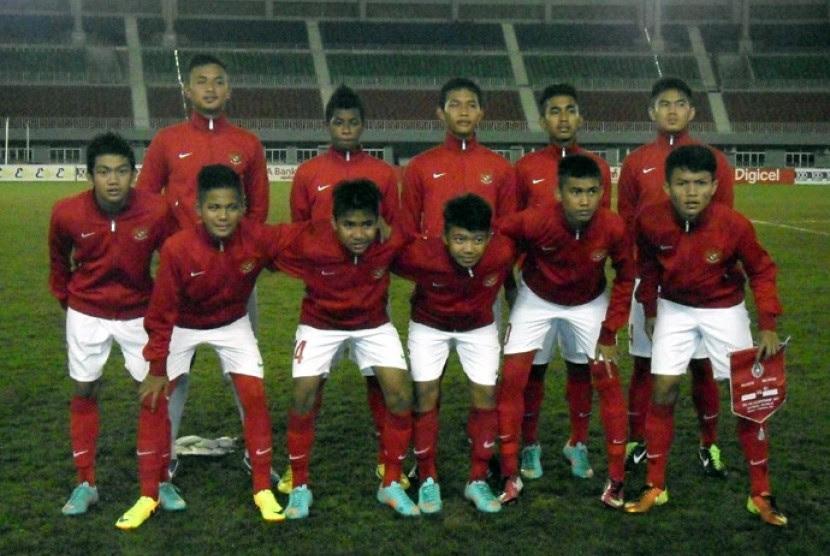 Timnas U16 Indonesia Ditaklukkan Vietnam  Republika Online