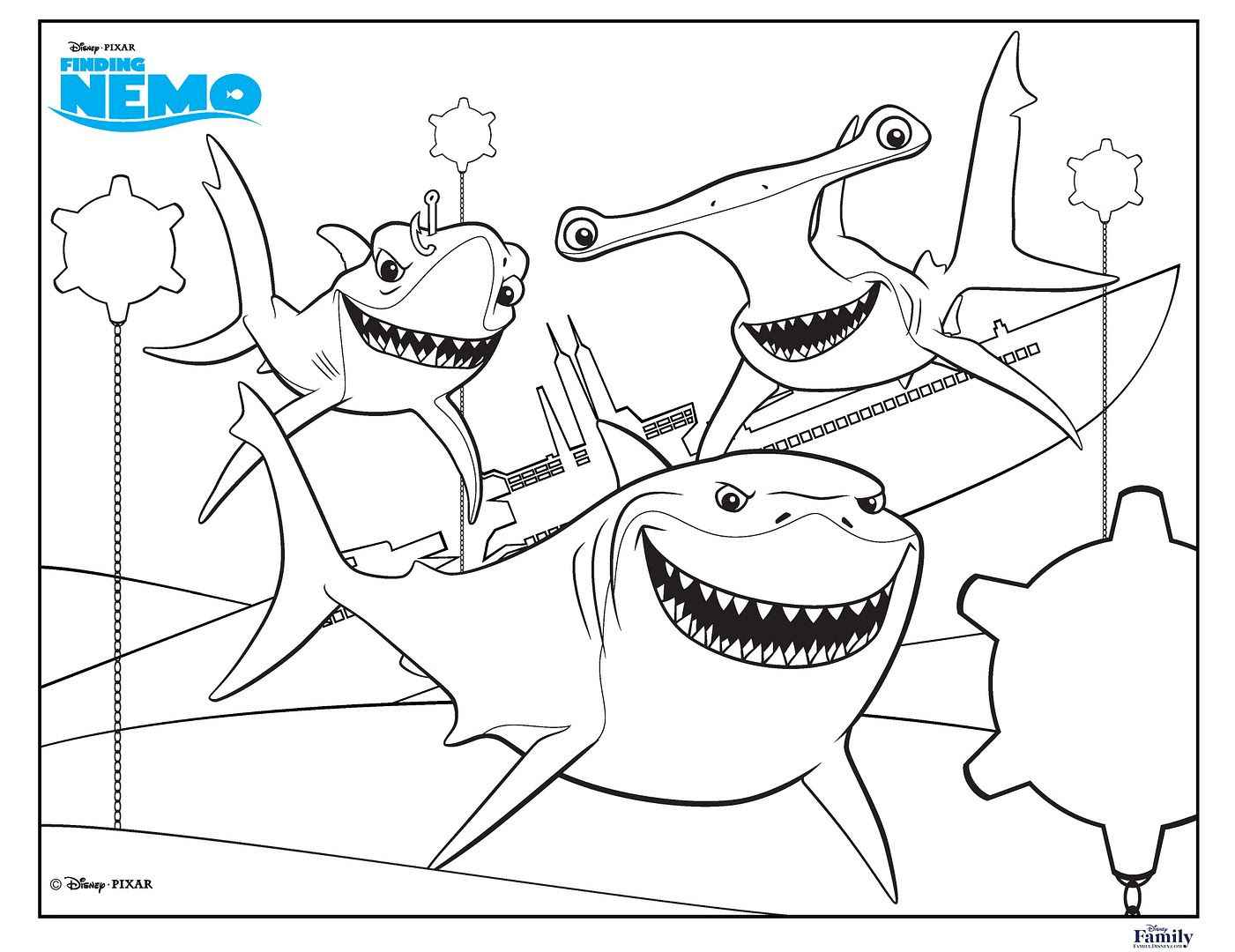 18 fun, free printable summer coloring pages for kids ...