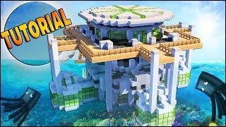 Minecraft Tutorial How To Make A Modern Underwater House Minecraftvideos Tv