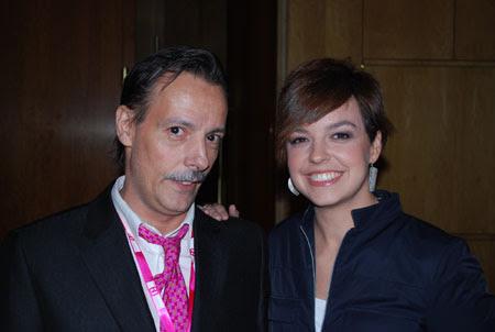 Cristina Villanueva y Jaime Jalon en Ficod 2009