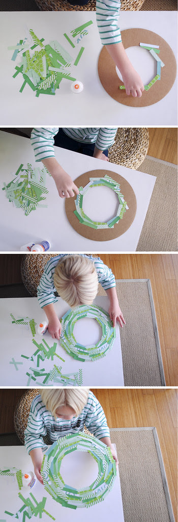 MerMagPaperStripWreath2