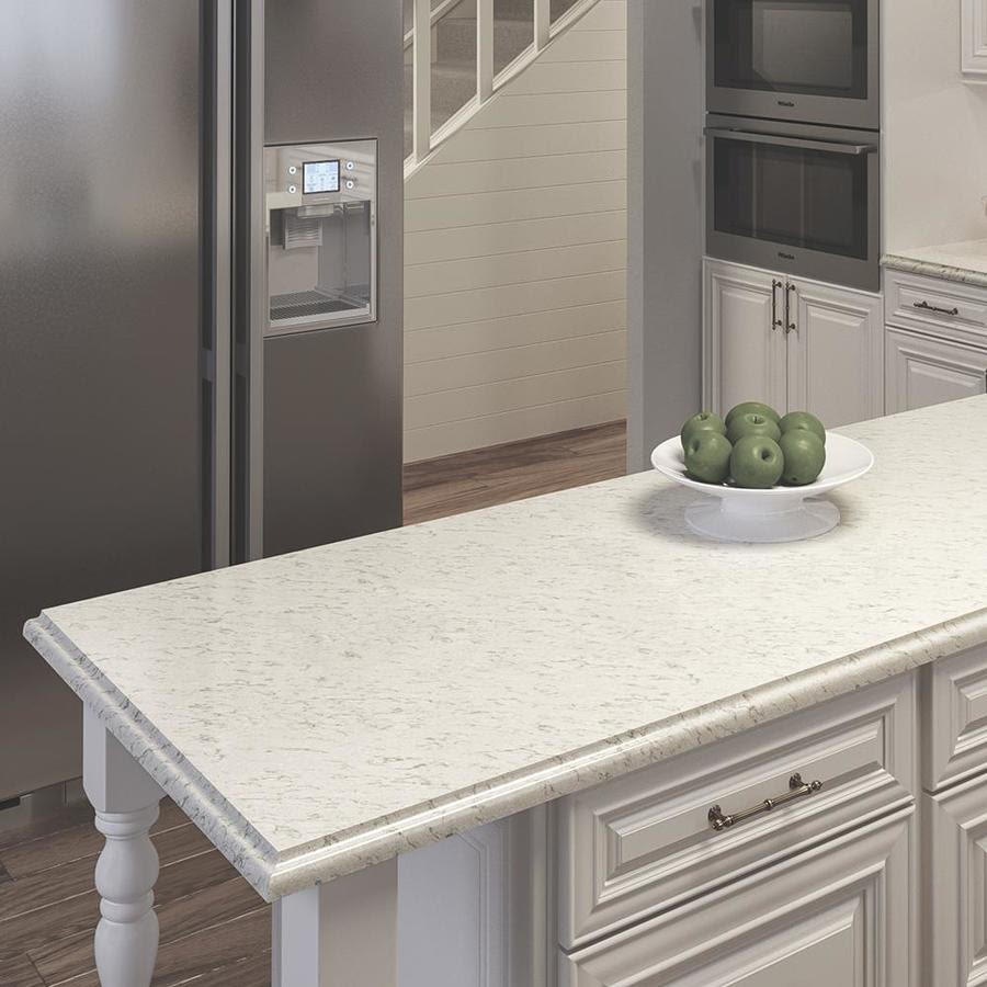 Allen Roth Sugarbrush Quartz Kitchen Countertop Sample At Lowes Com