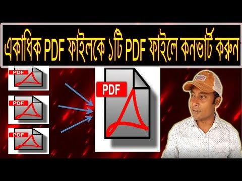How To Merge Multiple PDF Files Into One PDF File | How To Combine Two PDF Files Into One PDF File