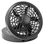 USB Electric Fan, Black