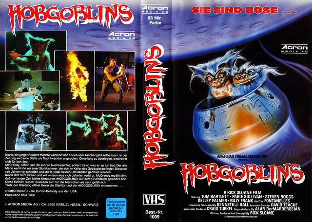 Hobgoblins (VHS Box Art)