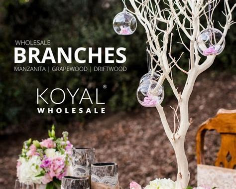 1000  ideas about Tree Branch Centerpieces on Pinterest