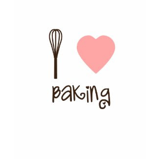 I Heart Baking Tee shirt