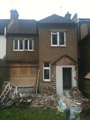 back of the house, largely gone... by sashinka-uk