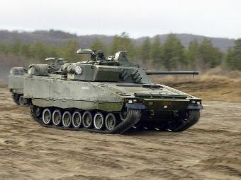 CV90 вооруженных сил Норвегии. Фото с сайта armyrecognition.com
