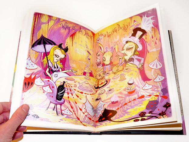 camille_rose_alice_mad_hatter_book