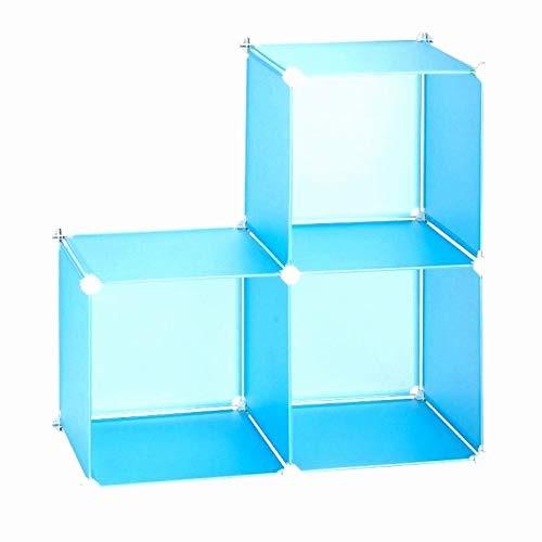 Anva DIY Storage Cube Organizer Closet Cabinet Chests Space (Multicolor)