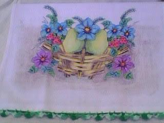 pano de prato by Vera Arte em Giz